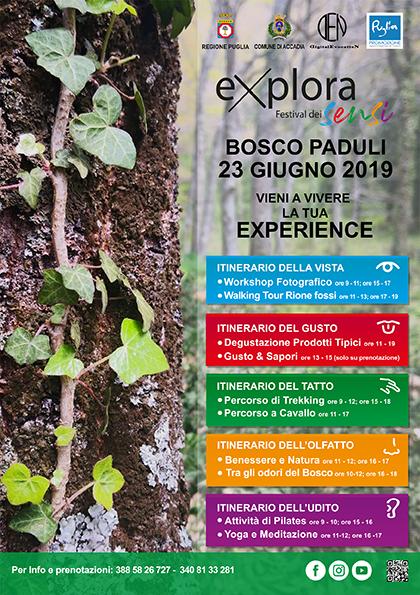 Explora - Festival dei Sensi